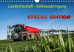 Landwirtschaft – Gülleausbringung (Wandkalender 2021 DIN A4 quer) von Witt,  Simon