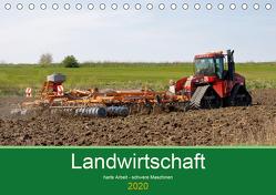 Landwirtschaft – harte Arbeit, schwere Maschinen (Tischkalender 2020 DIN A5 quer) von Poetsch,  Rolf