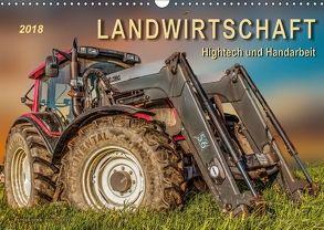 Landwirtschaft – Hightech und Handarbeit (Wandkalender 2018 DIN A3 quer) von Roder,  Peter