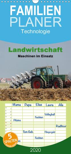Landwirtschaft – Maschinen im Einsatz – Familienplaner hoch (Wandkalender 2020 , 21 cm x 45 cm, hoch) von Poetsch,  Rolf
