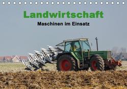 Landwirtschaft – Maschinen im Einsatz (Tischkalender 2020 DIN A5 quer) von Poetsch,  Rolf