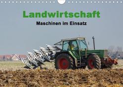Landwirtschaft – Maschinen im Einsatz (Wandkalender 2020 DIN A4 quer) von Poetsch,  Rolf