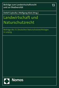 Landwirtschaft und Naturschutzrecht von Czybulka,  Detlef, Köck,  Wolfgang
