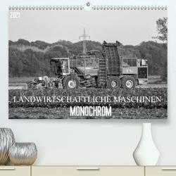 Landwirtschaftliche Maschinen Monochrom (Premium, hochwertiger DIN A2 Wandkalender 2021, Kunstdruck in Hochglanz) von SchnelleWelten