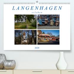 Langenhagen erleben (Premium, hochwertiger DIN A2 Wandkalender 2020, Kunstdruck in Hochglanz) von SchnelleWelten