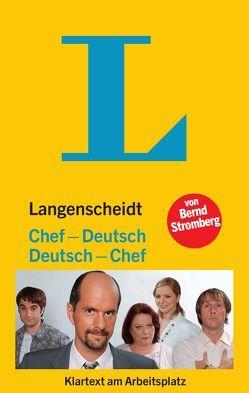 Langenscheidt Chef-Deutsch/Deutsch-Chef von Stromberg,  Bernd