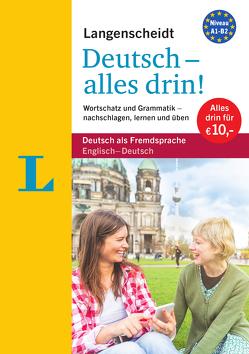 Langenscheidt Deutsch – alles drin! – Basiswissen Deutsch in einem Band von Langenscheidt,  Redaktion