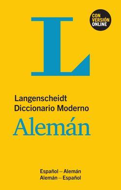 Langenscheidt Diccionario Moderno Alemán – Buch und Online von Langenscheidt,  Redaktion