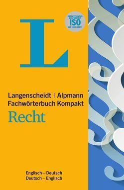 Langenscheidt Fachwörterbuch Kompakt Recht Englisch von G. Bugg,  Stuart, Simon,  Heike
