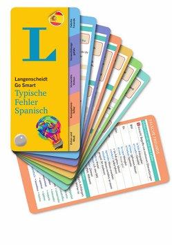Langenscheidt Go Smart Typische Fehler Spanisch – Fächer von Langenscheidt,  Redaktion
