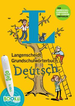 Langenscheidt Grundschulwörterbuch Deutsch – Buch mit Bookii-Hörstift-Funktion von Hoppenstedt,  Gila, Richardson,  Karen