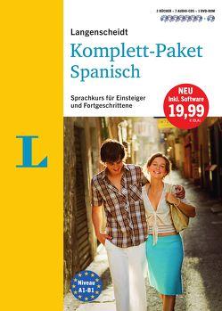 Langenscheidt Komplett-Paket Spanisch – Sprachkurs mit 2 Büchern, 7 Audio-CDs, 1 DVD-ROM, MP3-Download von Langenscheidt,  Redaktion