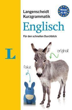 Langenscheidt Kurzgrammatik Englisch – Buch mit Download von Walther,  Lutz