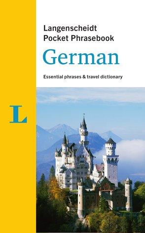 Langenscheidt Pocket Phrasebook German von Langenscheidt,  Redaktion
