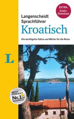 """Langenscheidt Sprachführer Kroatisch – Buch inklusive E-Book zum Thema """"Essen & Trinken"""" von Langenscheidt,  Redaktion"""