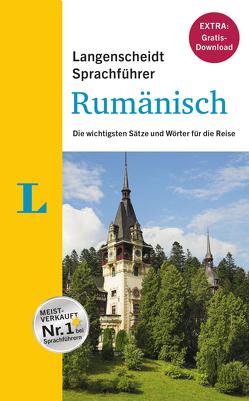 """Langenscheidt Sprachführer Rumänisch – Buch inklusive E-Book zum Thema """"Essen & Trinken"""" von Langenscheidt,  Redaktion"""