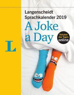 Langenscheidt Sprachkalender 2019 A Joke a Day – Abreißkalender von Langenscheidt,  Redaktion
