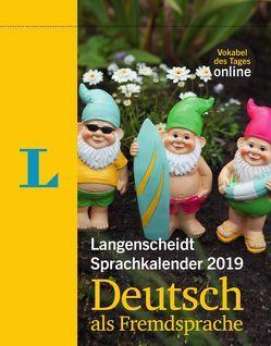 Langenscheidt Sprachkalender 2019 Deutsch als Fremdsprache – Abreißkalender von Langenscheidt,  Redaktion