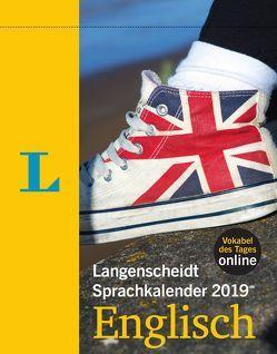 Langenscheidt Sprachkalender 2019 Englisch – Abreißkalender von Langenscheidt,  Redaktion