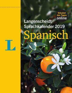 Langenscheidt Sprachkalender 2019 Spanisch – Abreißkalender von Langenscheidt,  Redaktion