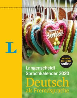 Langenscheidt Sprachkalender 2020 Deutsch als Fremdsprache – Abreißkalender von Langenscheidt,  Redaktion