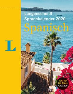 Langenscheidt Sprachkalender 2020 Spanisch – Abreißkalender von Langenscheidt,  Redaktion