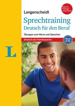 Langenscheidt Sprechtraining Deutsch für den Beruf – Buch mit MP3-Download von Justus-Fleck,  Margit, Roman,  Mona Anouk