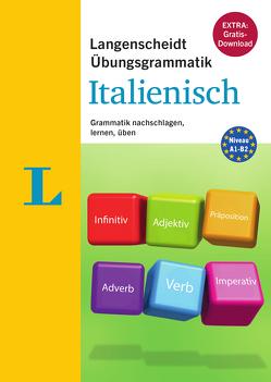 Langenscheidt Übungsgrammatik Italienisch – Buch mit PC-Software zum Download von Langenscheidt,  Redaktion