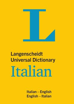 Langenscheidt Universal Dictionary Italian von Langenscheidt,  Redaktion