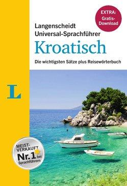 """Langenscheidt Universal-Sprachführer Kroatisch – Buch inklusive E-Book zum Thema """"Essen & Trinken"""" von Langenscheidt,  Redaktion"""