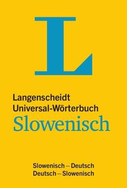 Langenscheidt Universal-Wörterbuch Slowenisch – mit Tipps für die Reise von Langenscheidt,  Redaktion