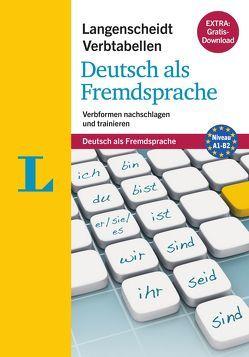 Langenscheidt Verbtabellen Deutsch als Fremdsprache – Buch mit Konjugationstrainer zum Download von Fleer,  Sarah