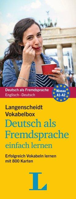 Langenscheidt Vokabelbox Deutsch als Fremdsprache einfach lernen – Box mit Karteikarten von Langenscheidt,  Redaktion