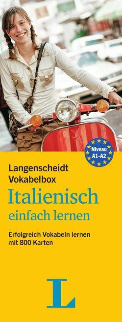 Langenscheidt Vokabelbox Italienisch einfach lernen – Box mit Karteikarten von Langenscheidt,  Redaktion