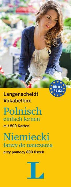 Langenscheidt Vokabelbox Polnisch einfach lernen – für Anfänger und Wiedereinsteiger von Langenscheidt,  Redaktion