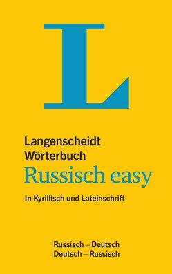 Langenscheidt Wörterbuch Russisch easy von Langenscheidt,  Redaktion