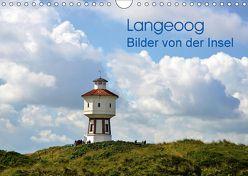 Langeoog – Bilder von der Insel (Wandkalender 2018 DIN A4 quer) von Honig,  Christoph
