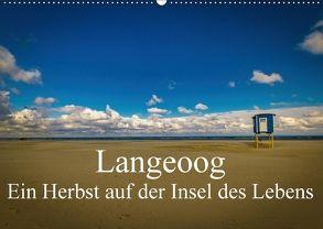 Langeoog – Ein Herbst auf der Insel des Lebens (Wandkalender 2018 DIN A2 quer) von Thiele,  Tobias
