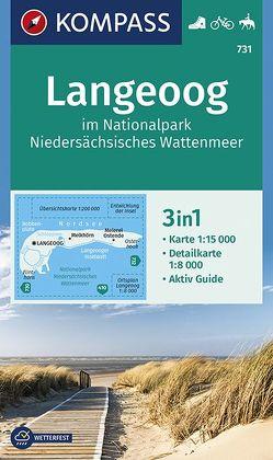 Langeoog im Nationalpark Niedersächsisches Wattenmeer von KOMPASS-Karten GmbH