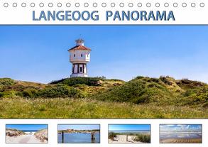 LANGEOOG PANORAMA (Tischkalender 2020 DIN A5 quer) von Dreegmeyer,  Andrea