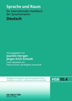 Language and Space / Deutsch von Herrgen,  Joachim, Schmidt,  Jürgen Erich