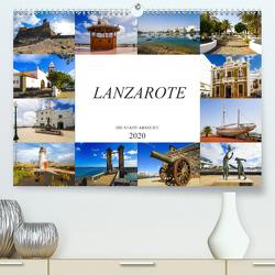 Lanzarote Die Stadt Arrecife (Premium, hochwertiger DIN A2 Wandkalender 2020, Kunstdruck in Hochglanz) von Meutzner,  Dirk