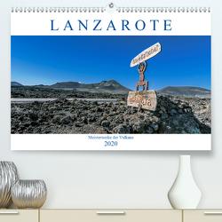 Lanzarote – Meisterwerke der Vulkane (Premium, hochwertiger DIN A2 Wandkalender 2020, Kunstdruck in Hochglanz) von Meyer,  Dieter