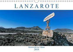 Lanzarote – Meisterwerke der Vulkane (Wandkalender 2019 DIN A4 quer) von Meyer,  Dieter