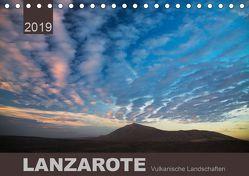 LANZAROTE Vulkanische Landschaften (Tischkalender 2019 DIN A5 quer) von Koch,  Lucyna
