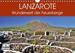 Lanzarote. Wunderwelt der Feuerberge (Wandkalender 2019 DIN A4 quer) von Heußlein,  Jutta