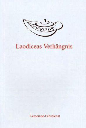 Laodiceas Verhängnis von Sasek,  Ivo
