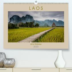 Laos – eine Bildreise (Premium, hochwertiger DIN A2 Wandkalender 2020, Kunstdruck in Hochglanz) von Rost,  Sebastian