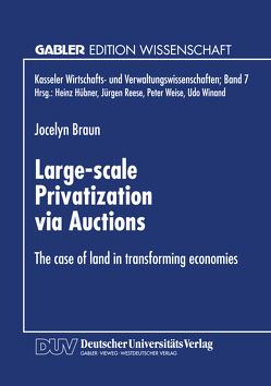 Large-scale Privatization via Auctions von Braun,  Jocelyn