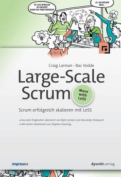 Large-Scale Scrum von Björn Jensen, Larman,  Craig, Vodde,  Bas